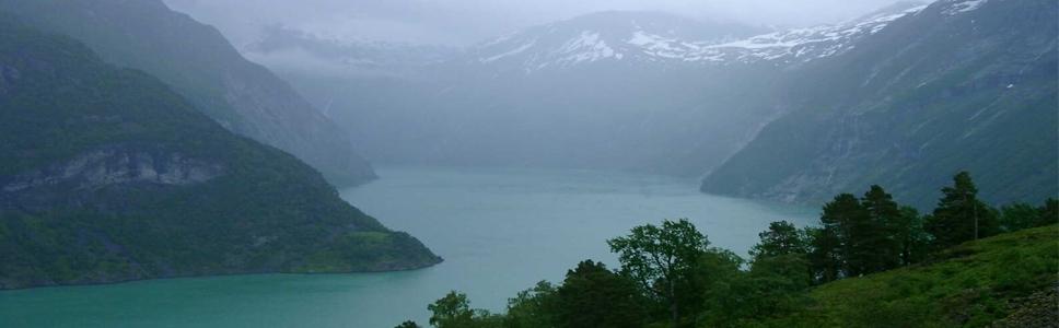 Sognefjord lookleb läänerannikult Lõuna-Norra südamesse